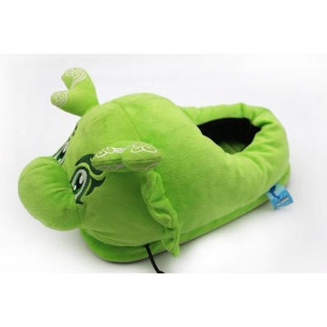 Plush Stuffed Indoor Slipper With Cartoon Character Design
