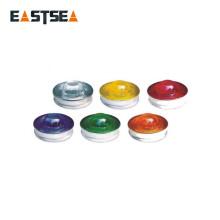 Espárrago de seguridad de vidrio reflectante blanco o amarillo de 360 grados