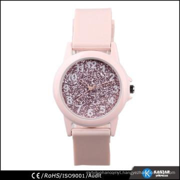 lady strap silicone japan movement quartz watch sr626sw