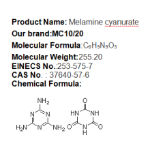 melamine cyanurate polyamide 6