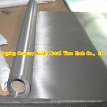 Fornecimento permanente de 304 310 316 malha de aço inoxidável / malha de malha de aço inoxidável para filtragem / mineração / proteção de equipamentos