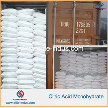 Monohydrate d'acide citrique Acidulant de nourriture E330 / USP / FCC / Bp / Ep