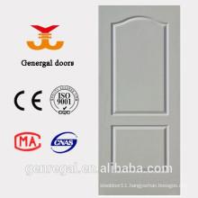 PU foam infilling classic design white wooden door