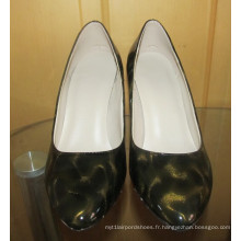 Mode MID à talons hauts bout pointu chaussures (Hcy02-1673)