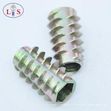 Écrou d'insertion de service de usinage de haute précision pour l'acier