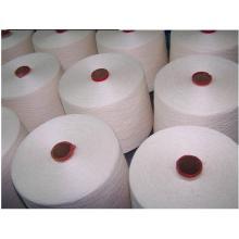 40/2 Raw White sur tube en plastique Tfo Virgin Bright 100% fil de polyester filé