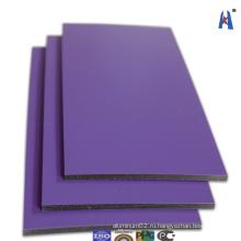 Строительный материал Огнестойкая 4мм алюминиевая композитная панель Xh006