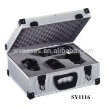 Insérer case appareil photo numérique professionnel en aluminium avec mousse