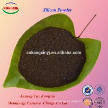 Polvo de silicio del precio de fábrica de la pureza elevada