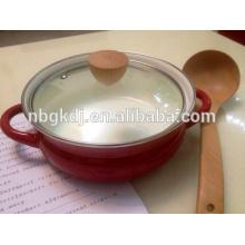 enamelware de cozinha de pote de frutos do mar de esmalte
