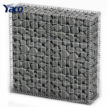 Новые продукты 4мм 6мм горячего погружения гальванизированная сваренная Тип габионные клетки каменной стеной