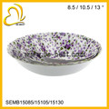 factory direct sale wholesale big size plastic melamine bowl set