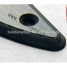 Alta profissional 1mm / 2mm quadro de zangão de folha de fibra de carbono