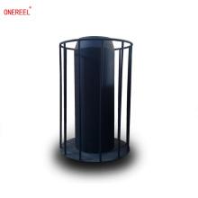 Portador de bobina de alambre de acero