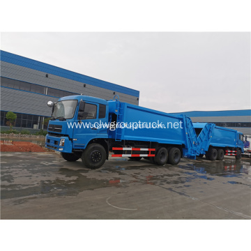 Supply of doubel rear wheel Compressed Garbage Truck