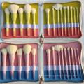 Gradient Color 14pcs Makeup Brushes Set Makeup Tools