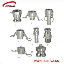 Acoplamientos rápidos de Camlock de acero inoxidable Tipo a, B, C, D, E, F, DC, Dp