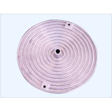 Pièces en aluminium moulées sous pression de pièces de lampe