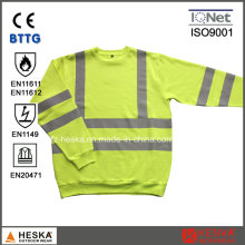 High Visibility Long Sleeves Modacrylic Flame Retardant T Shirt