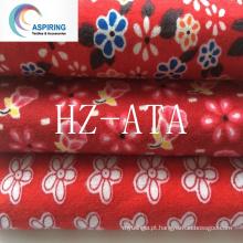 Tecidos de flanela 100% algodão para roupas de dormir