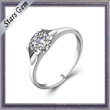 Высокая Мода Женщина Роскошные 925 Steling Серебряное Кольцо