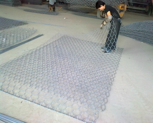 high quality zinc coated galvanized gabion basket
