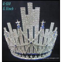 Pageant Mariage Bijoux en argent Tiara enfants princesse Tiara Grande strass la meilleure couronne