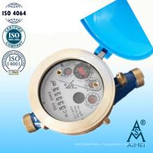 Multi Jet Liquid Sealed Type Brass Water Meter