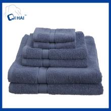 100% Baumwolle Garn Hotel Handtuch Sets (QHD5590)