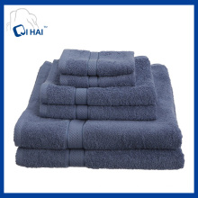 100% Cotton Yarn Hotel Towel Sets (QHD5590)