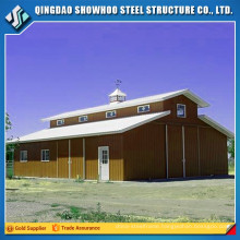 Structural steel fabrication horse stable for sale