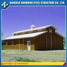 Construção de aço estrutural estável para venda a cavalo