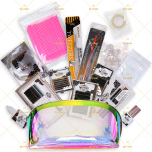 Eyelash Extensions Kit Bag For Salons Own Logo Stickers Tools/Glue/Remover
