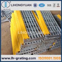 Degraus de escada de aço galvanizada para escadas