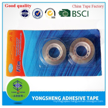 BOPP transparent packing adhesive tape,statonery tape with blister card pack
