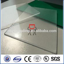 Feuille polycarbonate solide transparente de 6 mm