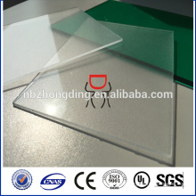 4.8mm thickness 4' x 8' clear frosted polycarbonate sheet