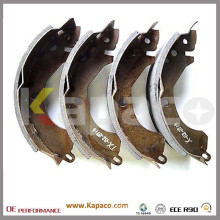Kapaco Hot Selling Rear Parking Brake Shoe for Mitsubishi OEM MZ981184 MB534596