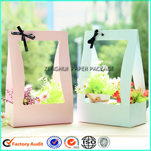 Customize Beautiful Flower Basket Packaging Box