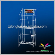 Office supplies OEM design metal magazine display rack