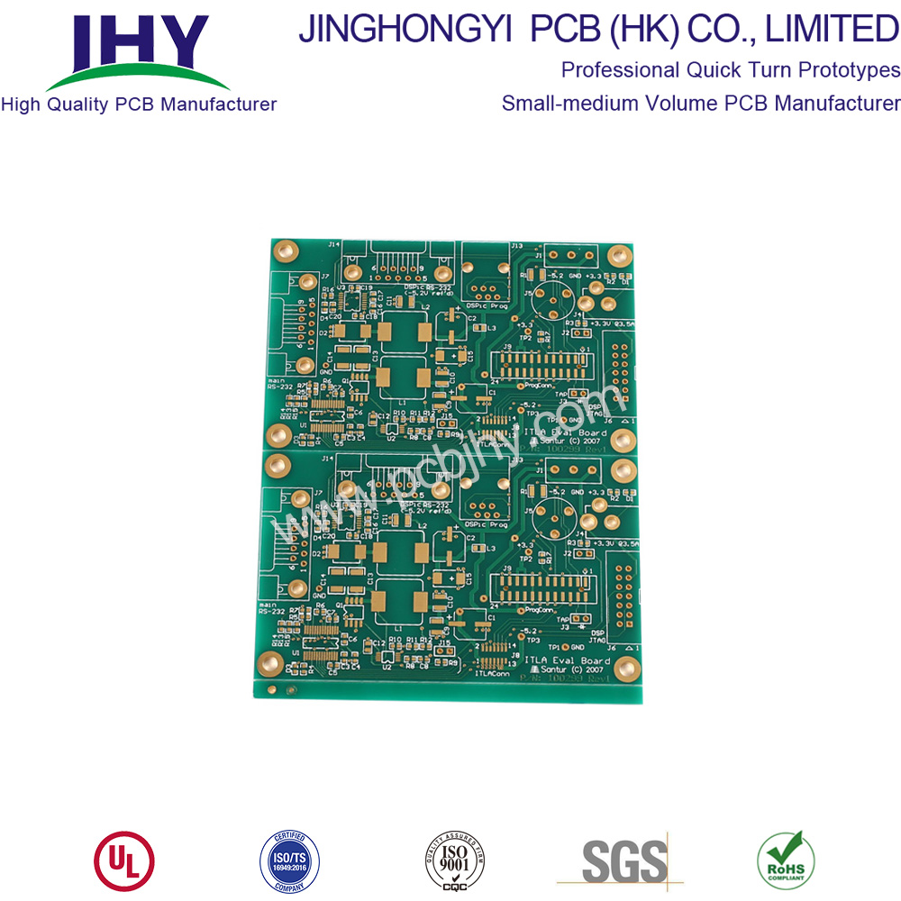 ENIG FR4 1.6mm 1ozDouble Sided Printed Circuit Boards