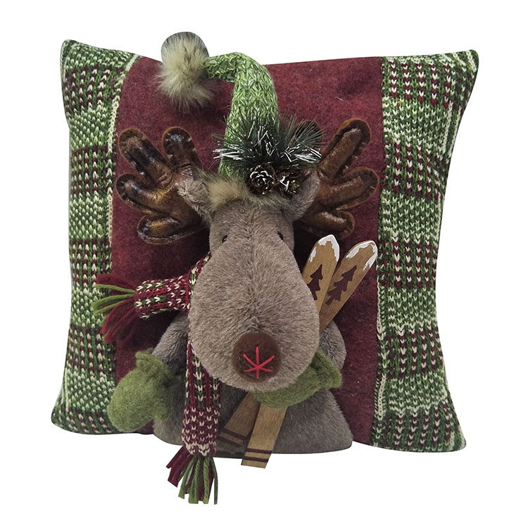 Christmas Reindeer Soft Pillow