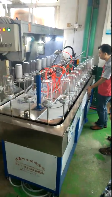 Automatic Coating Glass Bottle