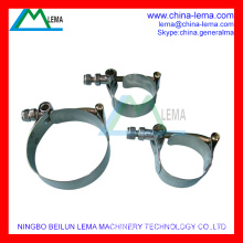 High-Strength Stainless Steel T-bolt Clamp