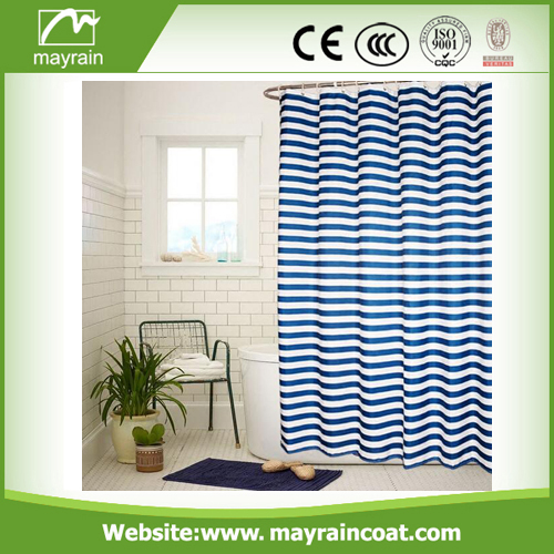 Custom Plastic Shower Curtain