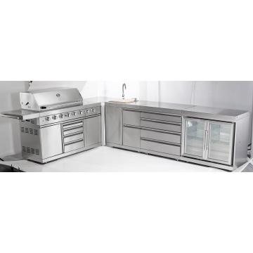 AGA Barbacoa al aire libre Galore diseños de cocina para Australia