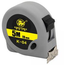 Plastic case steel belt pull tape measure 5m