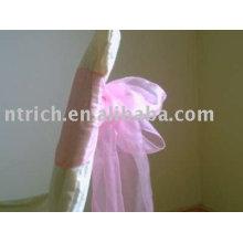 Ceintures, ceintures organza, jupettes roses décoration chaise jupettes