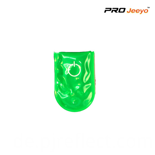 Green Led Light Magnetic Clip For Bagscj Pvc005