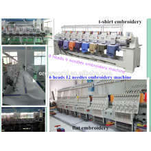 embroidery tajima 6 head for sale 9 needles 8 head Wonyo embroidery machine WY908C made in China